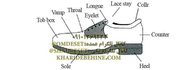 ساختار کفش