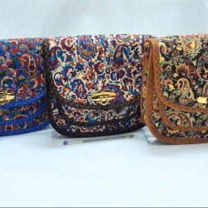 کیف سنتی ترمه قفل دار