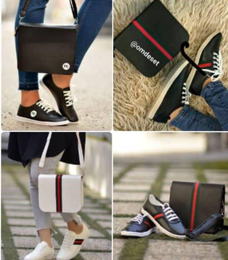 ست کیف و کفش حراجی