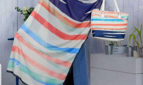 ست کیف و کفش و شال جدید